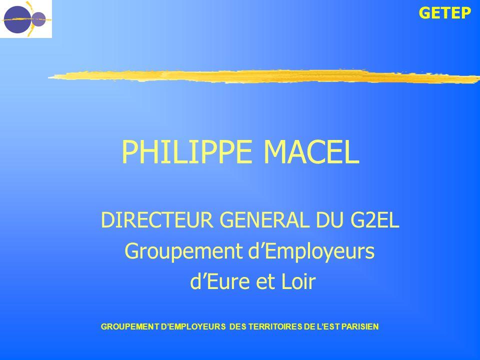 DIRECTEUR GENERAL DU G2EL Groupement d'Employeurs d'Eure et Loir