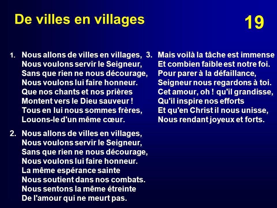 De villes en villages