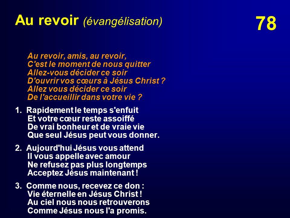 Au revoir (évangélisation)