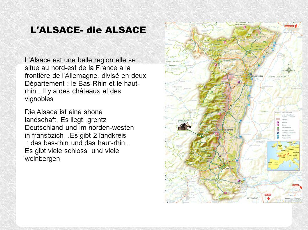 L ALSACE- die ALSACE