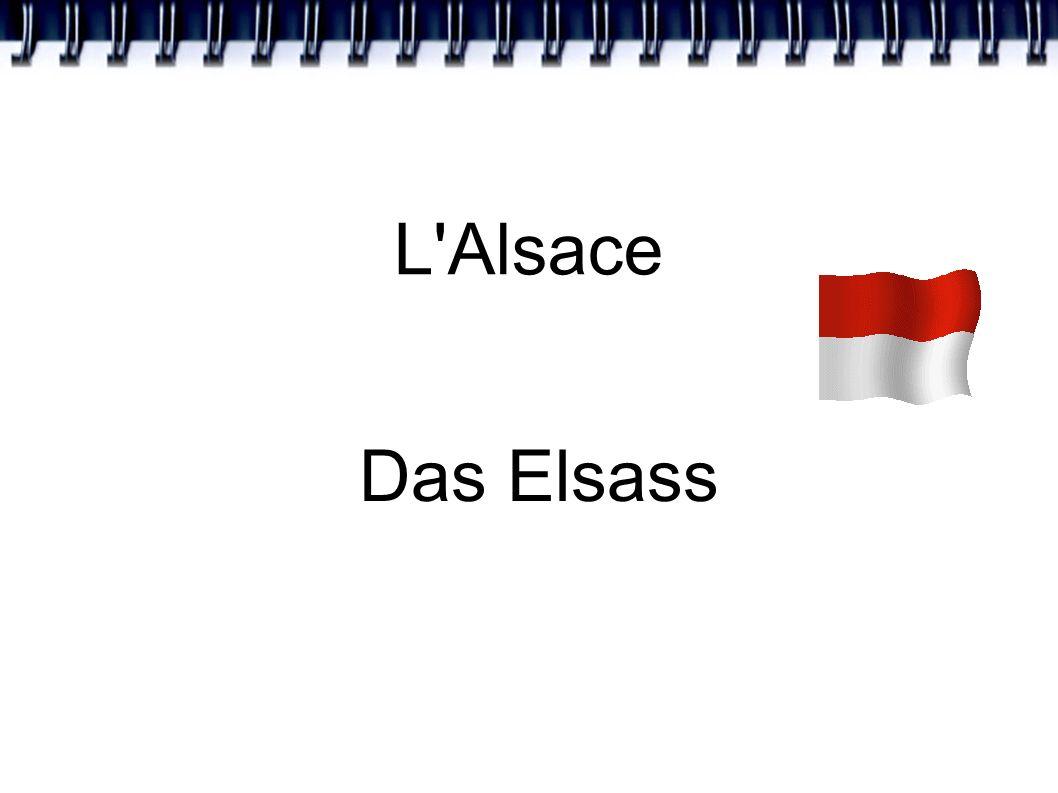 L Alsace Das Elsass