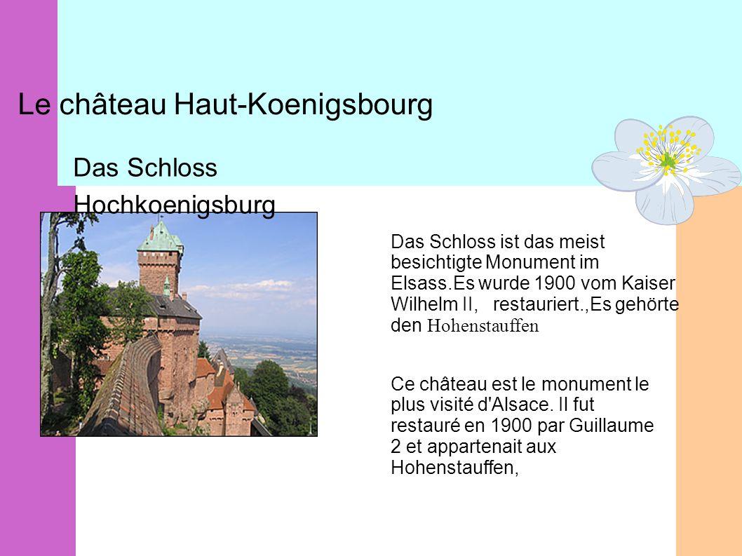 Le château Haut-Koenigsbourg