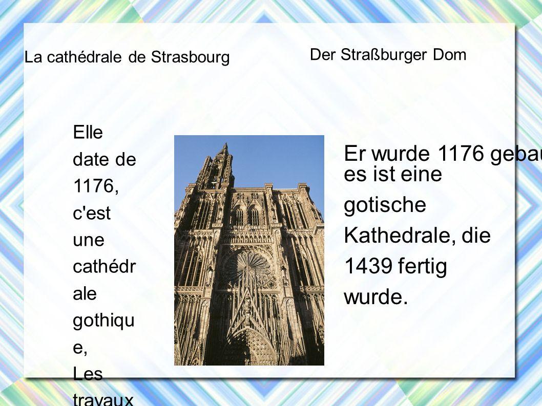 es ist eine gotische Kathedrale, die 1439 fertig wurde.