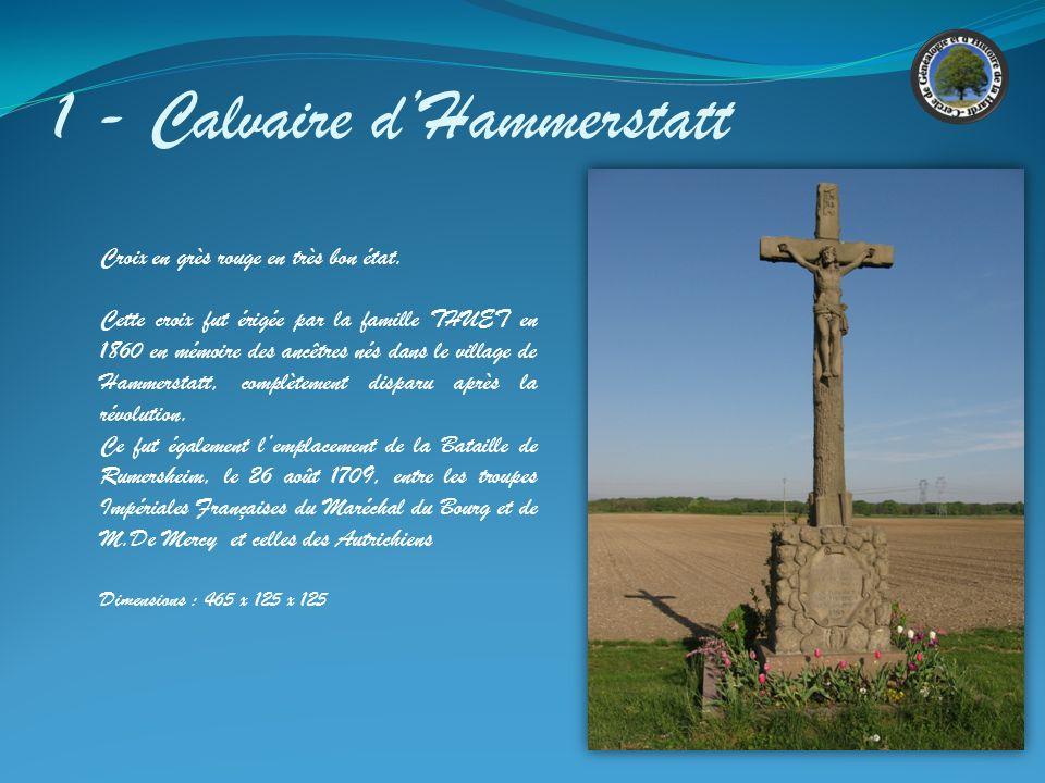 1 - Calvaire d'Hammerstatt