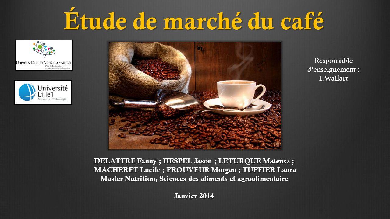 Etude Du March Ef Bf Bd Caf Ef Bf Bd France