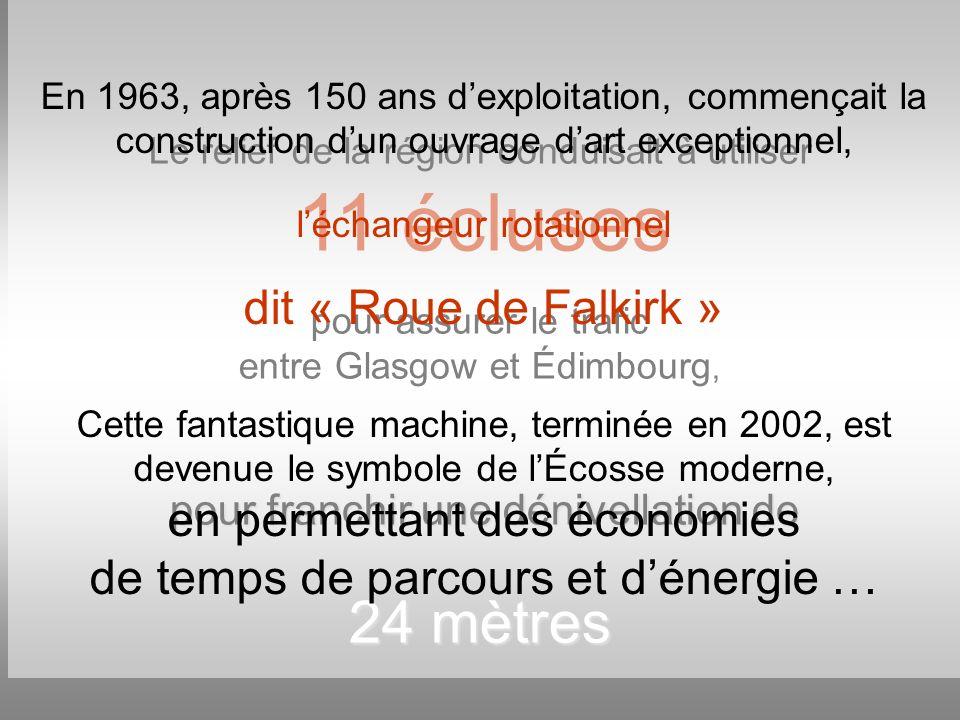 En 1963, après 150 ans d'exploitation, commençait la construction d'un ouvrage d'art exceptionnel,