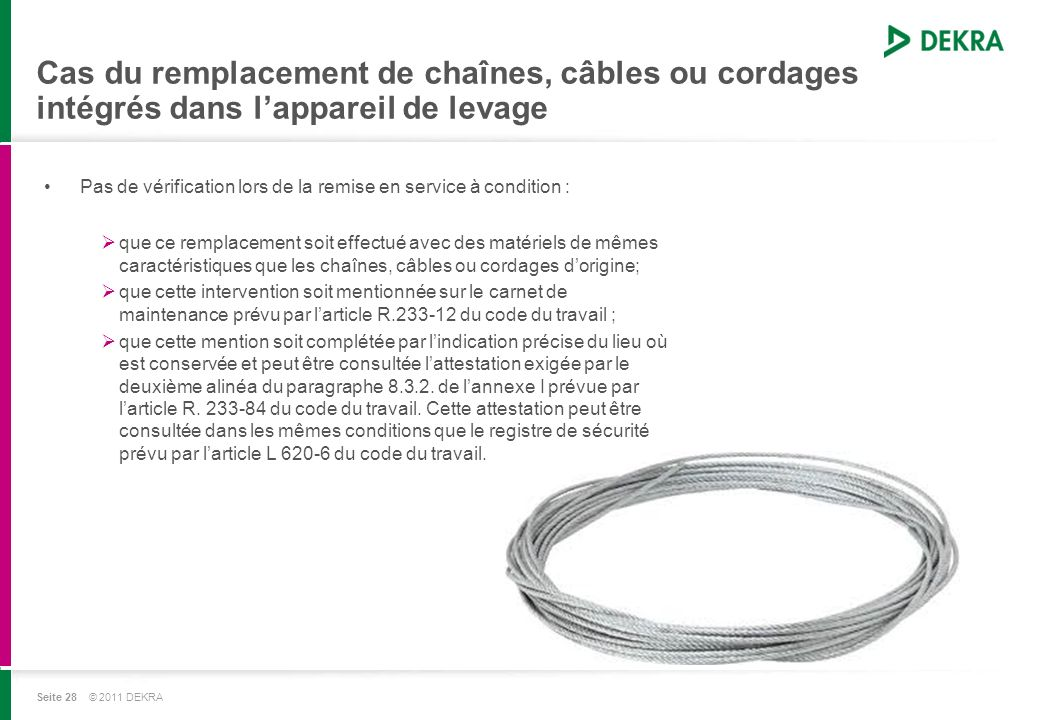 DEKRA Industrial France - ppt télécharger