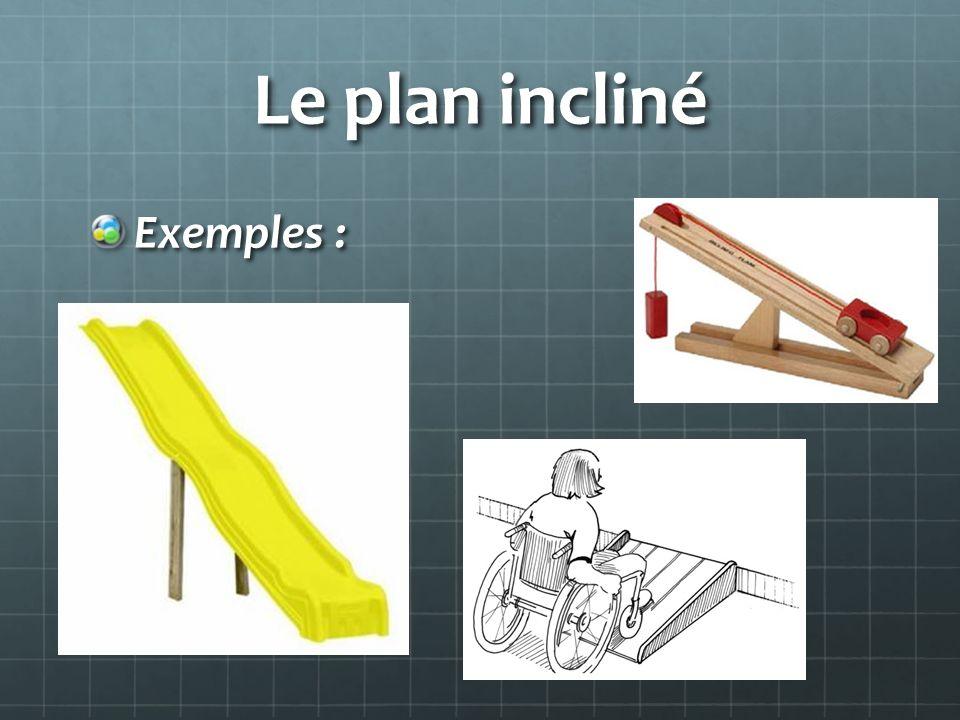 Les machines simples une machine simple est un outil ou un - Plan incline avec ceinture de maintien ...