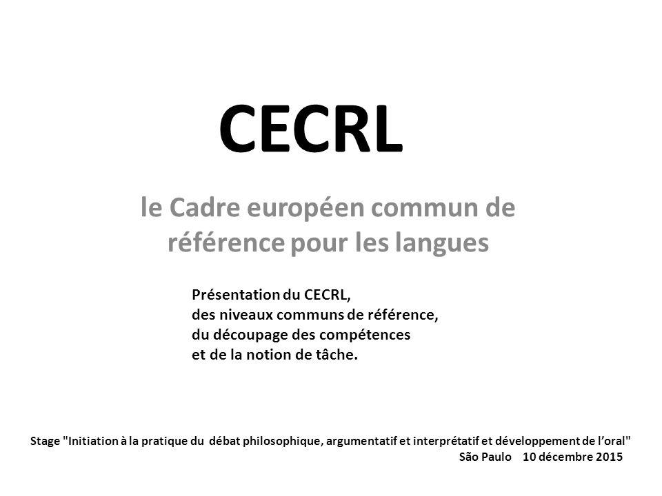 le cadre europ 233 en commun de r 233 f 233 rence pour les langues ppt t 233 l 233 charger