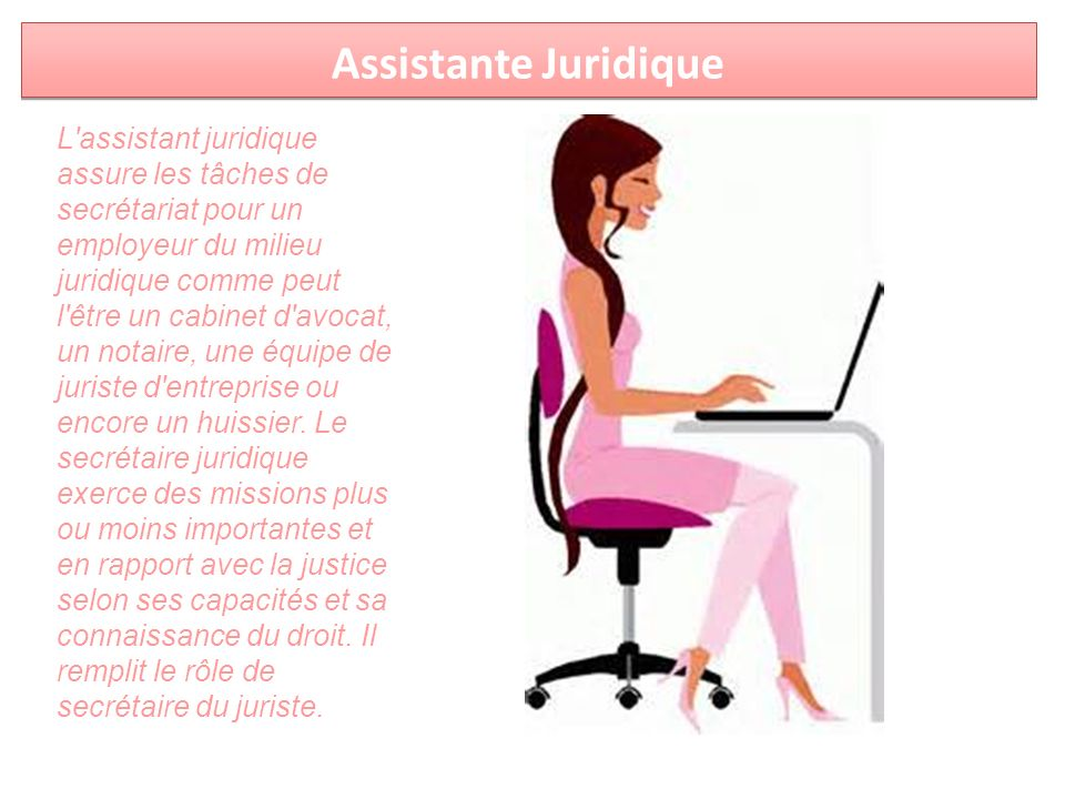 Assistante Juridique