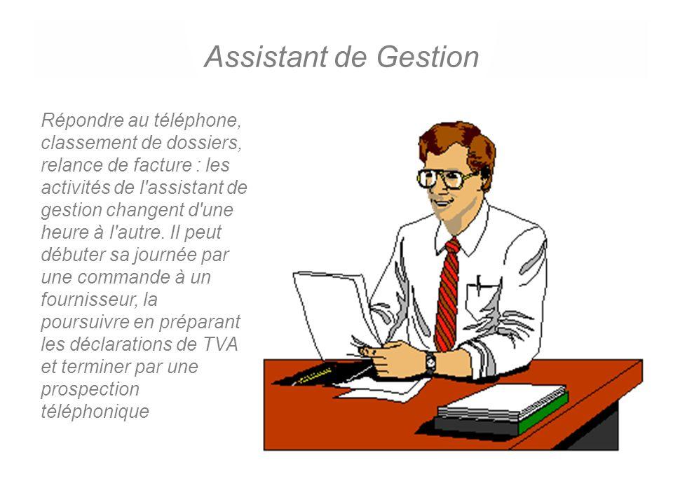 Assistant de Gestion