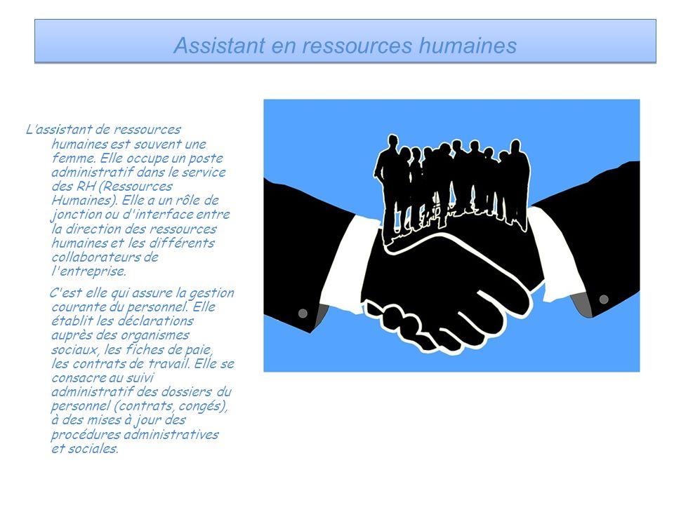 Assistant en ressources humaines