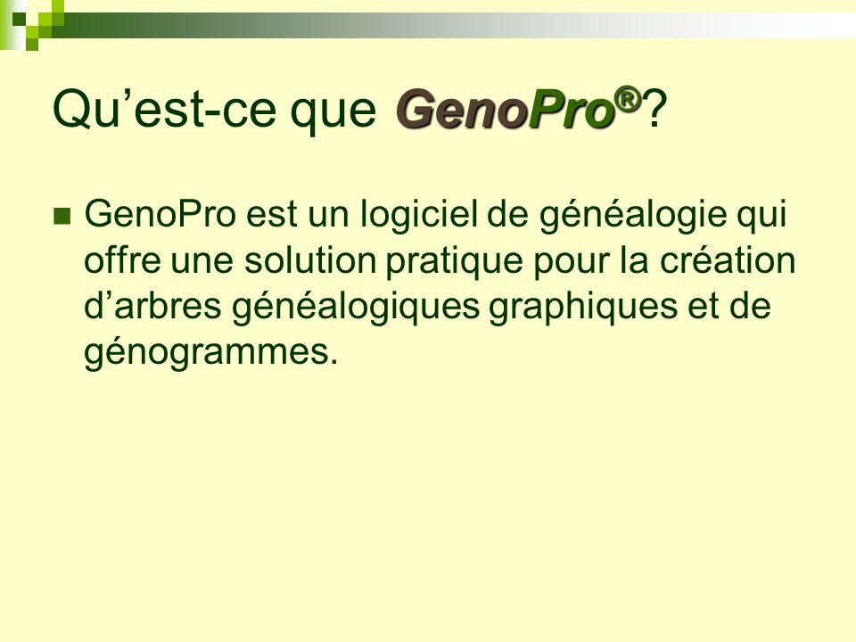 Qu'est-ce que GenoPro®