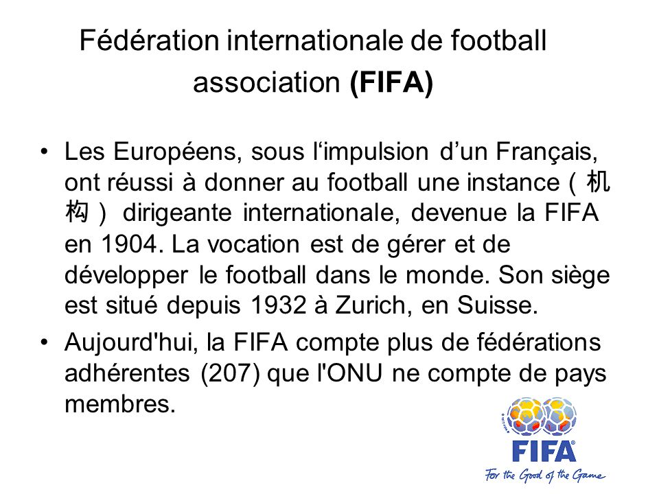 logique interne football