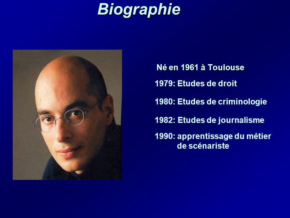 Biographie Né en 1961 à Toulouse 1979: Etudes de droit