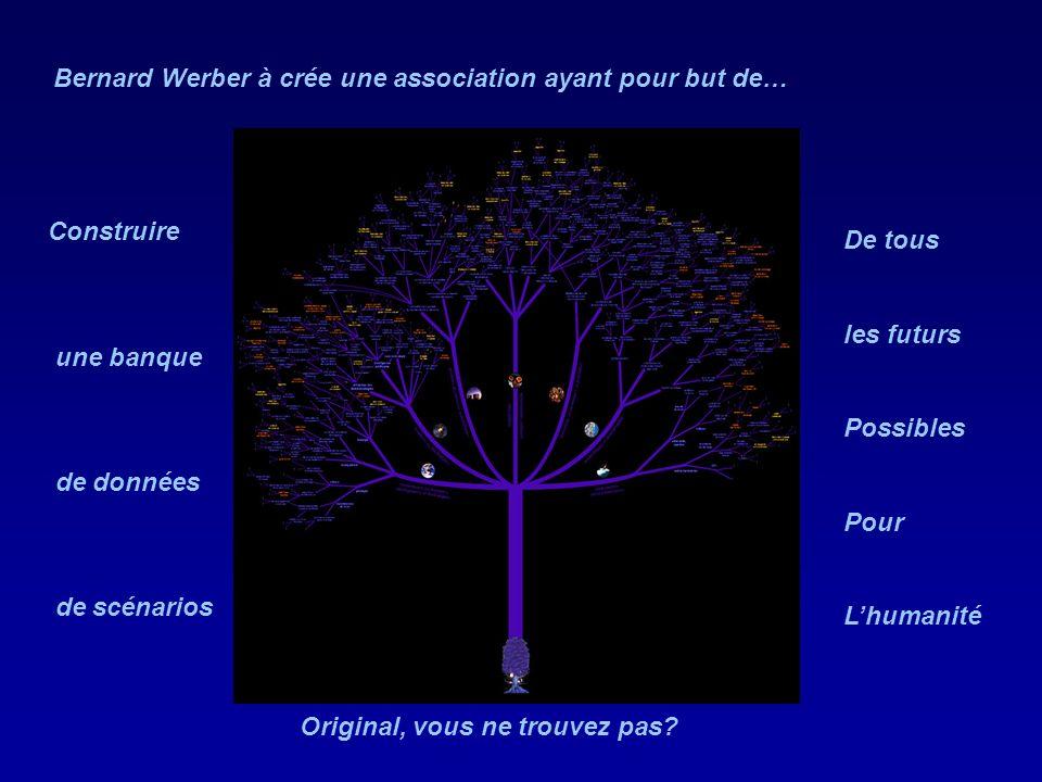 Bernard Werber à crée une association ayant pour but de…