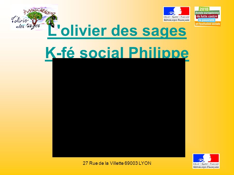 L olivier des sages K-fé social Philippe Jeantet