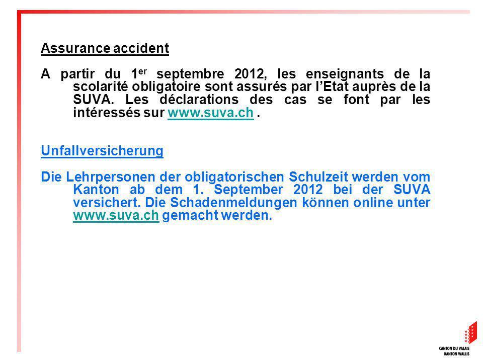 Assurance accident