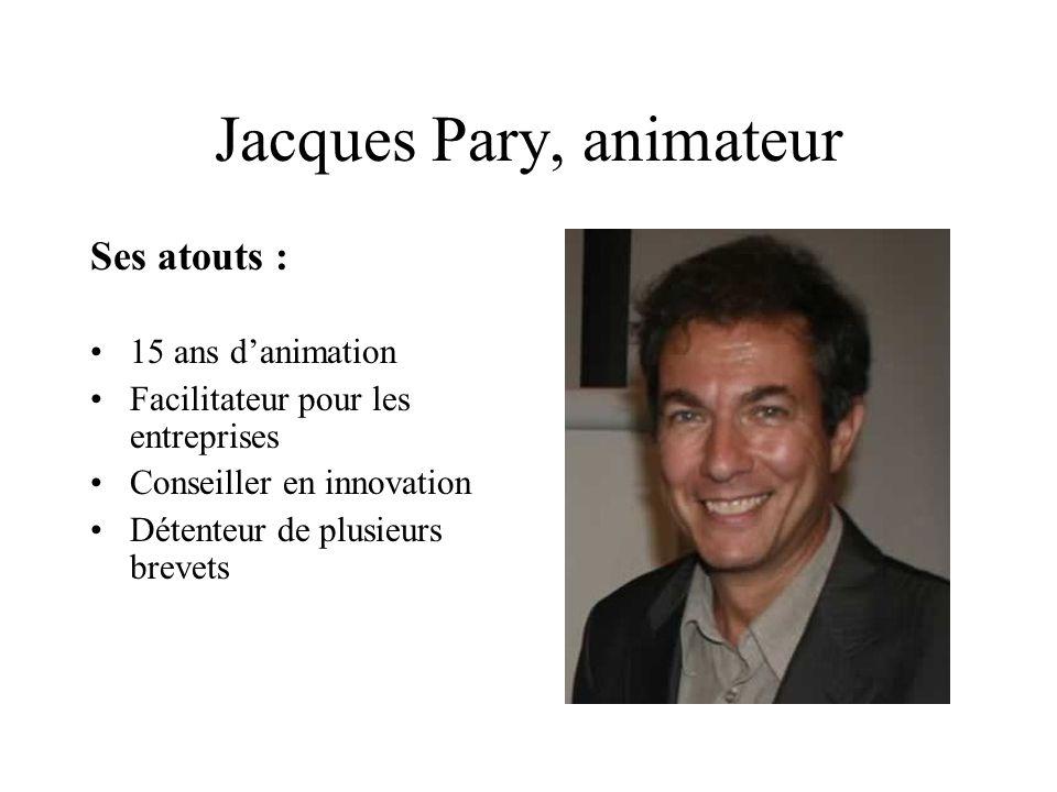 Jacques Pary, animateur