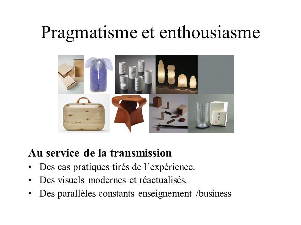Pragmatisme et enthousiasme