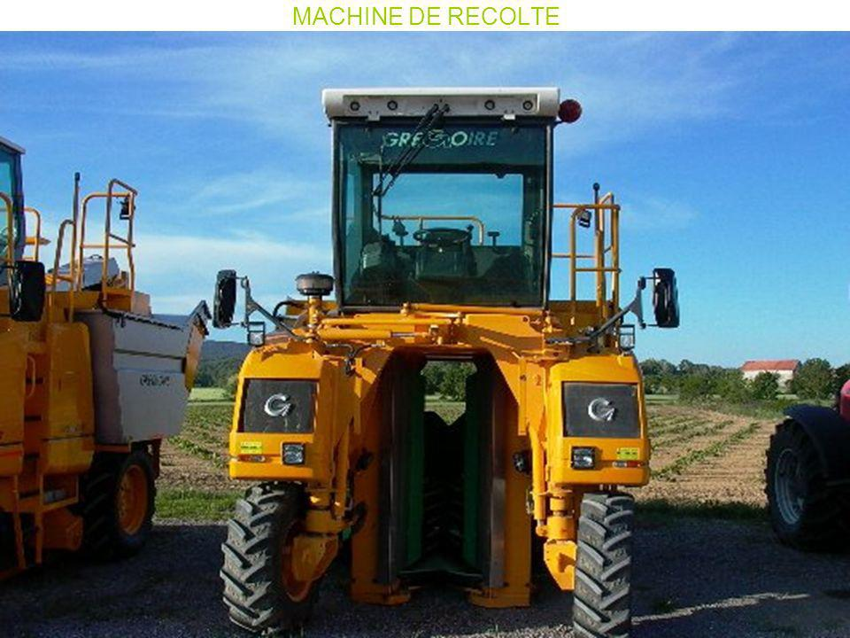 MACHINE DE RECOLTE
