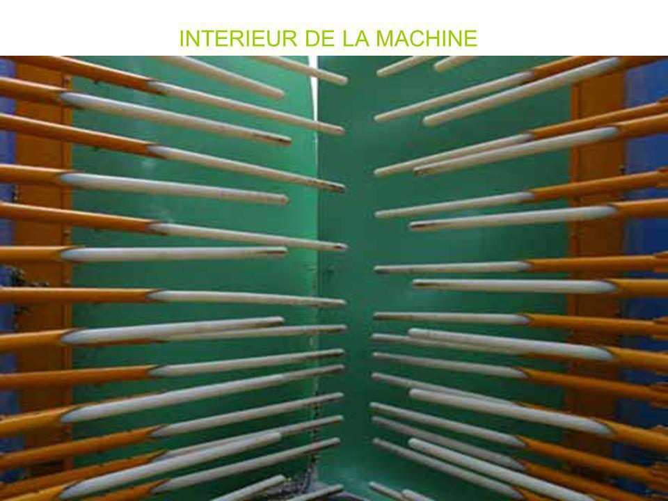 INTERIEUR DE LA MACHINE