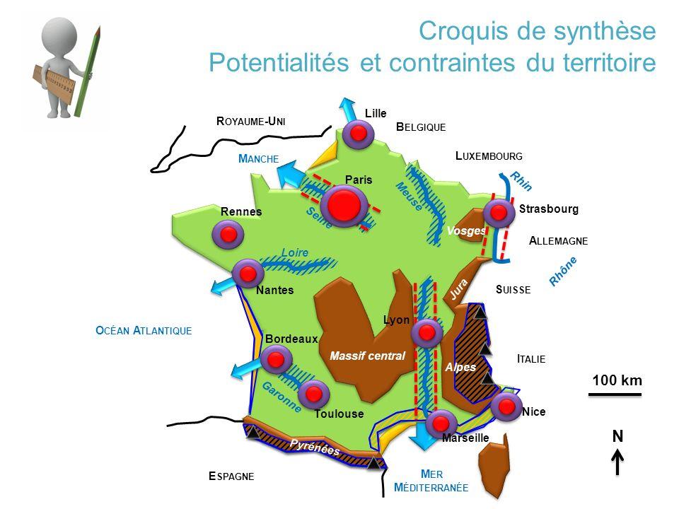 Potentialités et contraintes du territoire