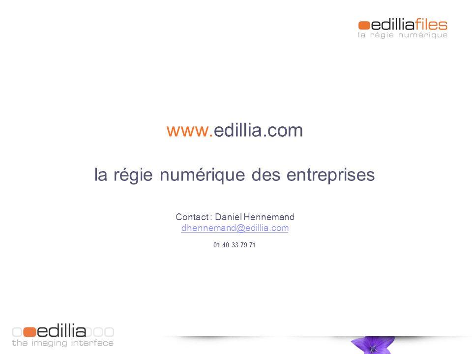 www.edillia.com la régie numérique des entreprises