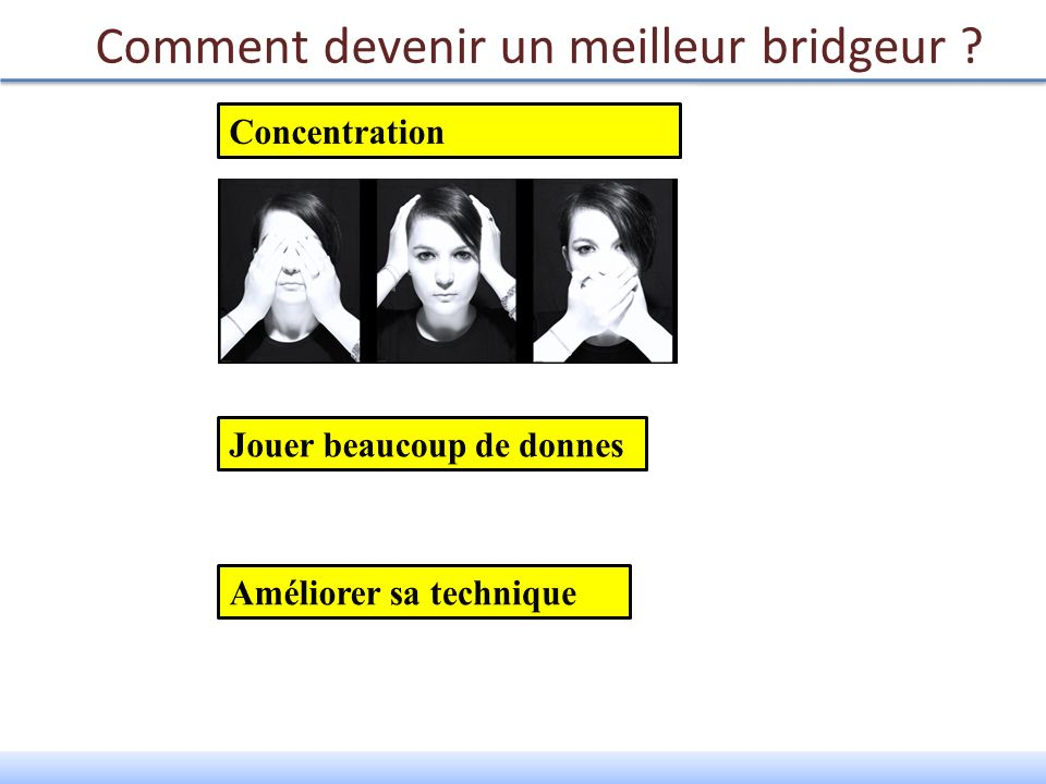 Comment devenir un meilleur bridgeur