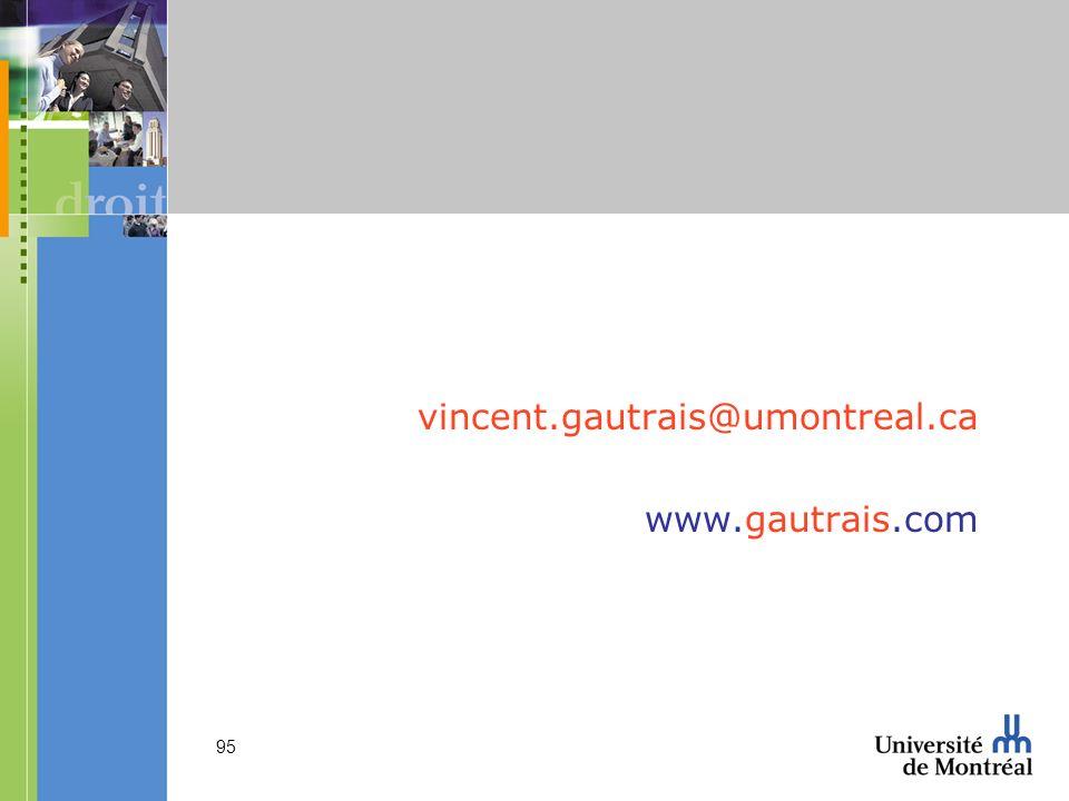 vincent.gautrais@umontreal.ca www.gautrais.com