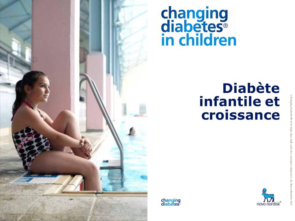 Diabète infantile et croissance