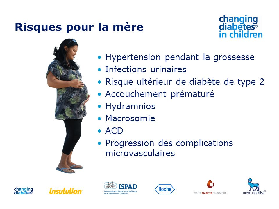 Risques pour la mère Hypertension pendant la grossesse