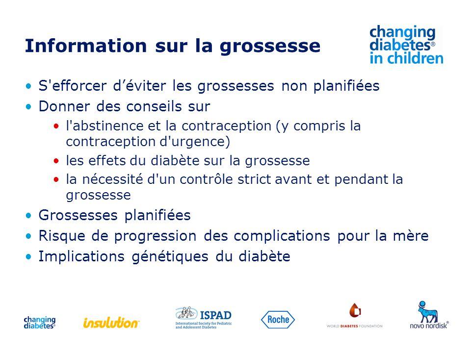 Information sur la grossesse