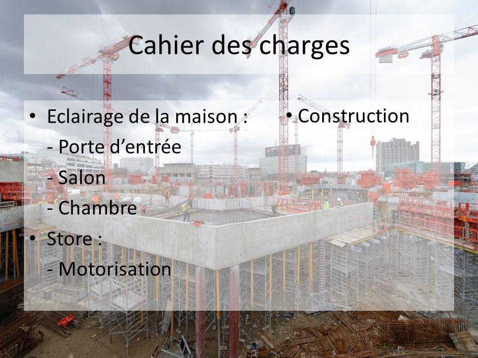 mini-projet domotique - ppt télécharger - Cahier Des Charges Construction Maison