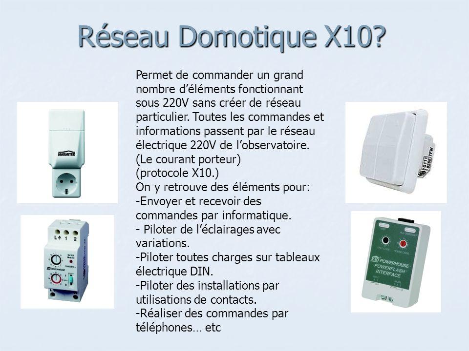 Réseau Domotique X10