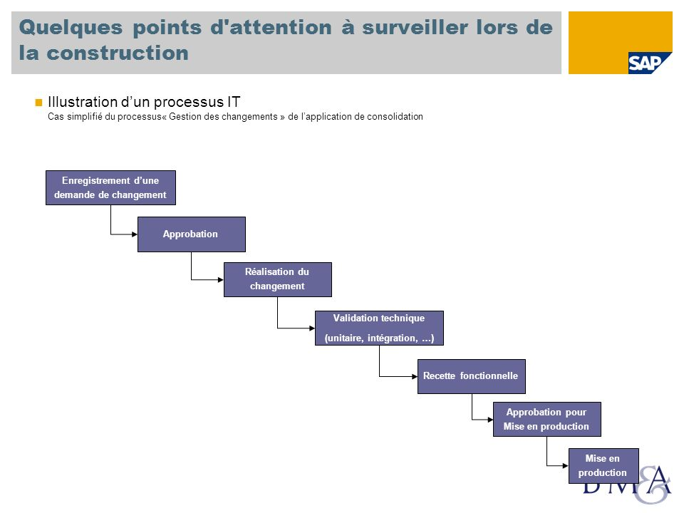 Quelques points d attention à surveiller lors de la construction