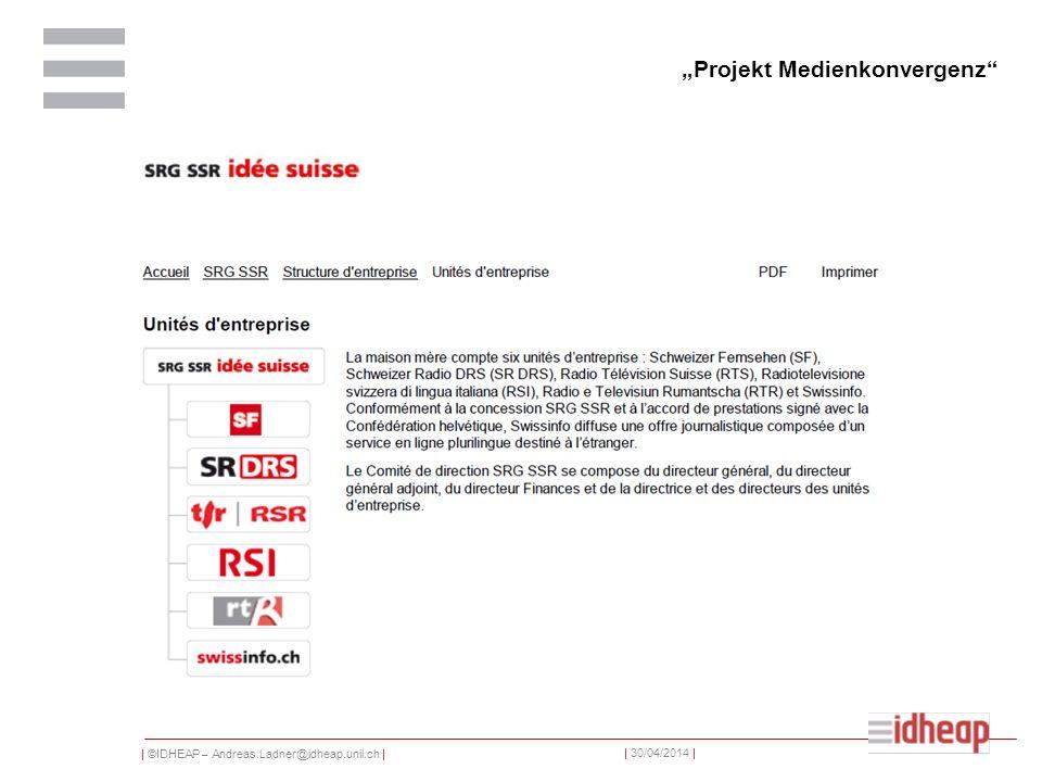 """Projekt Medienkonvergenz"