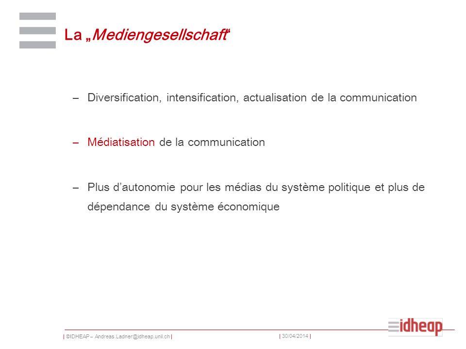 """La """"Mediengesellschaft"""