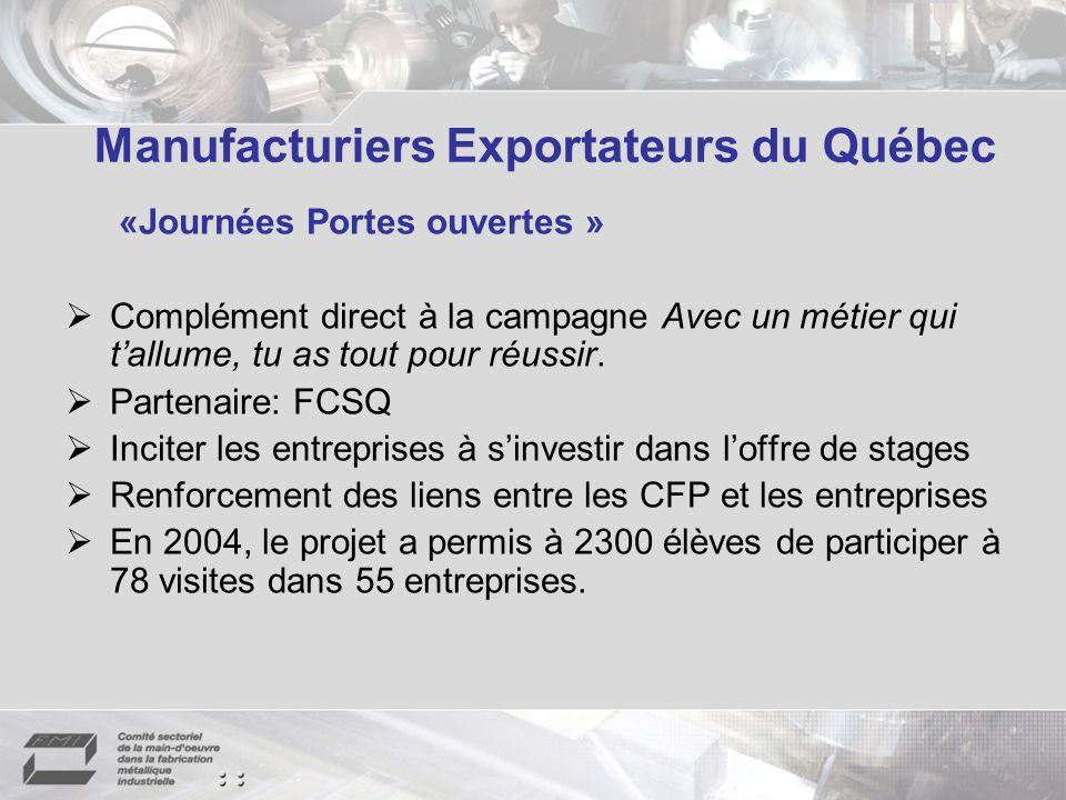 Manufacturiers Exportateurs du Québec
