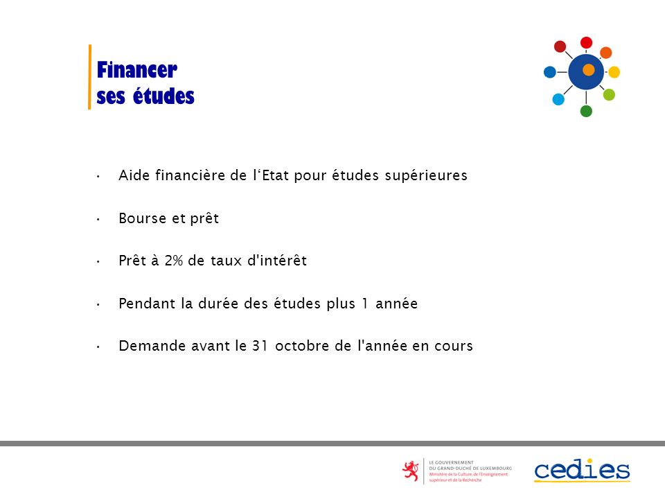 Financer ses études Aide financière de l'Etat pour études supérieures