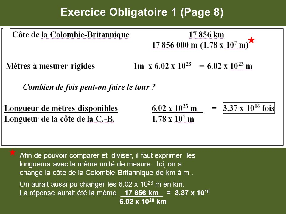 Exercice Obligatoire 1 (Page 8)