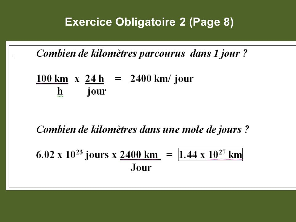 Exercice Obligatoire 2 (Page 8)