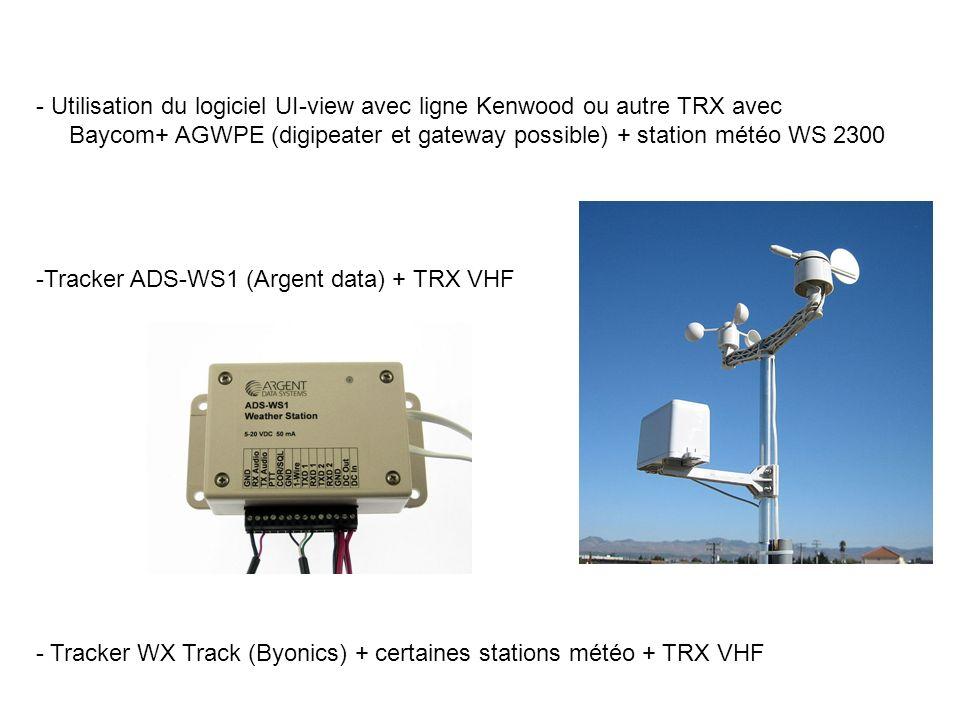 Utilisation du logiciel UI-view avec ligne Kenwood ou autre TRX avec