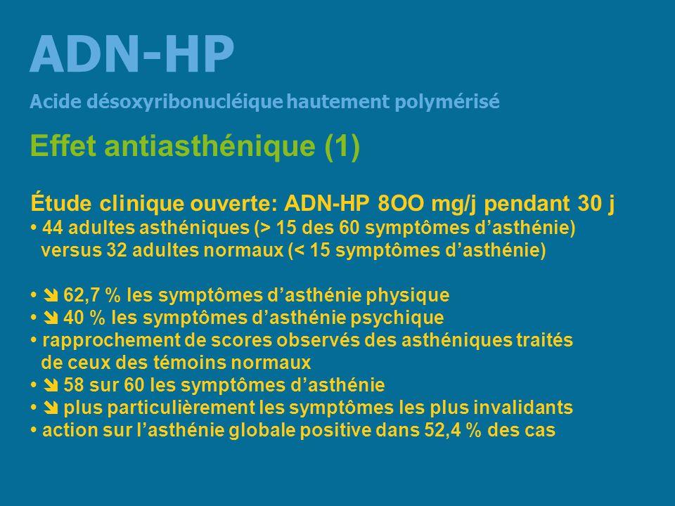 ADN-HP Effet antiasthénique (1)