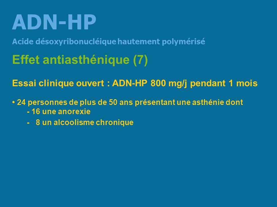 ADN-HP Effet antiasthénique (7)
