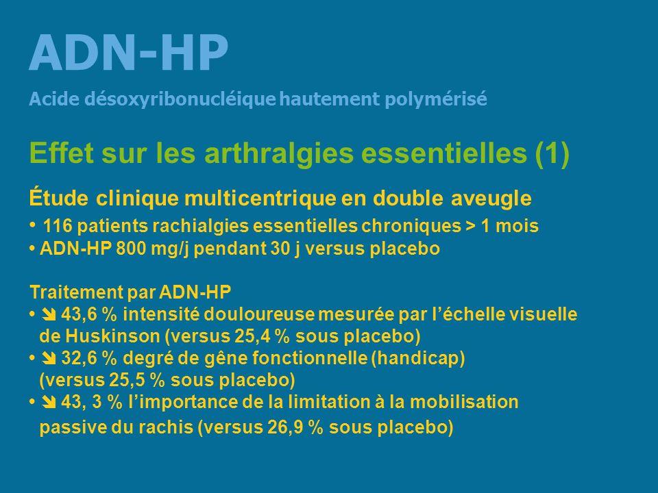 ADN-HP Effet sur les arthralgies essentielles (1)