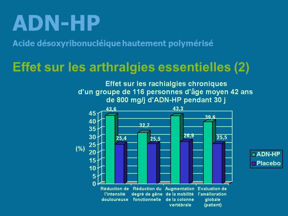 ADN-HP Effet sur les arthralgies essentielles (2)