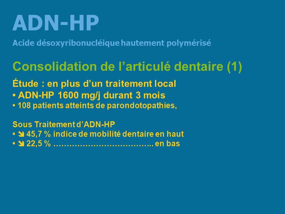 ADN-HP Consolidation de l'articulé dentaire (1)