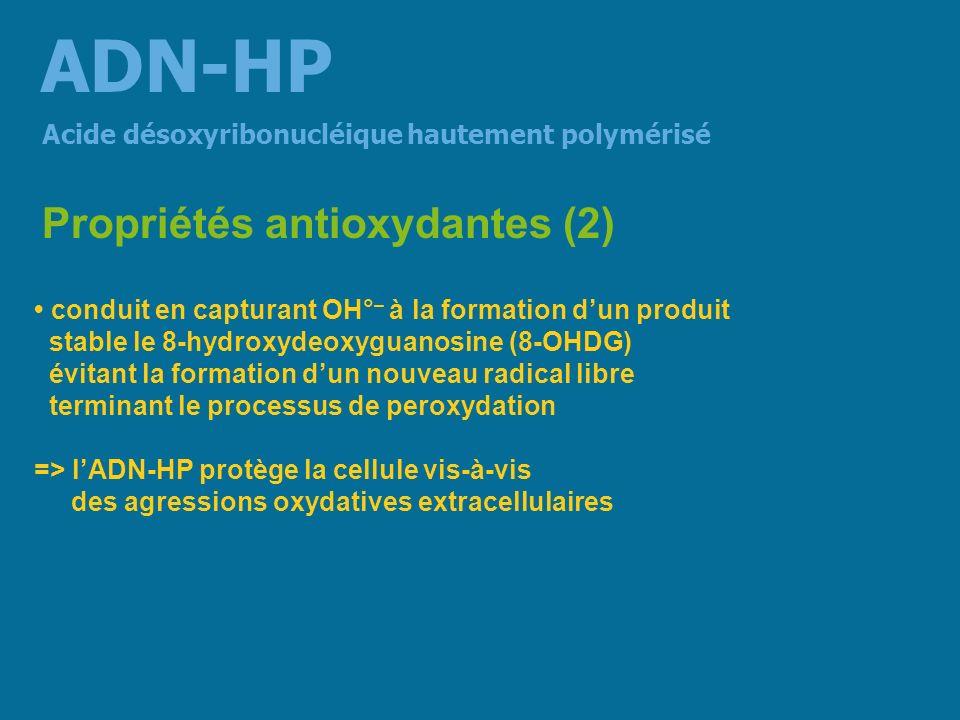 ADN-HP Propriétés antioxydantes (2)
