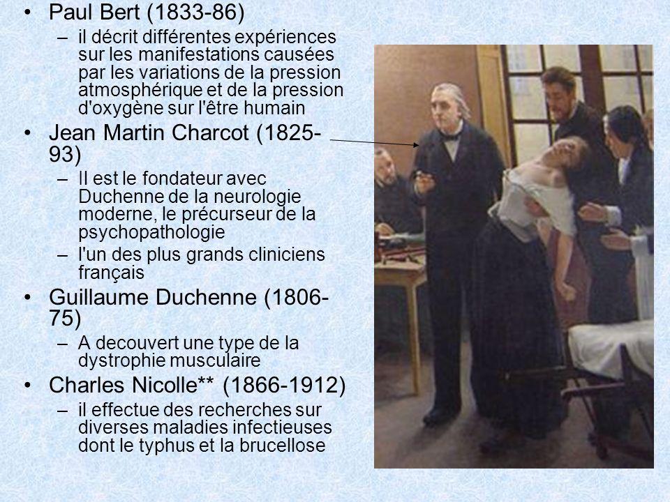 Jean Martin Charcot (1825-93)